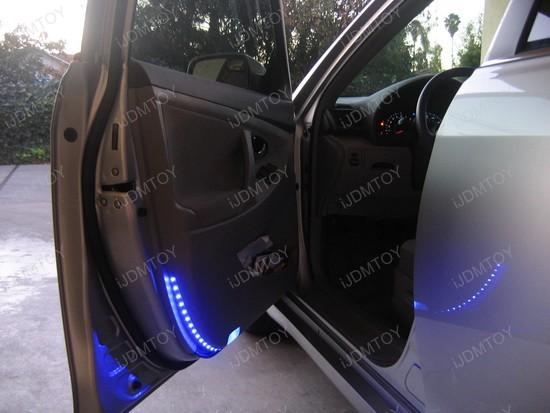 Toyota - Camry - LED - strips - side - door - lights - 2